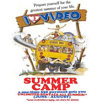 unlimited rentals summer camp